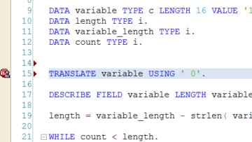 How to add trailing zeros in SAP ABAP?