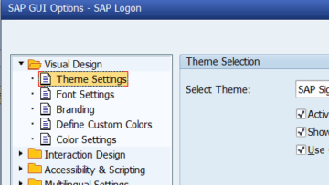 How to change your layout in SAP?