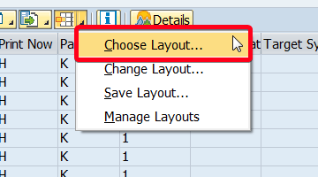 How to create your own layout in SAP?